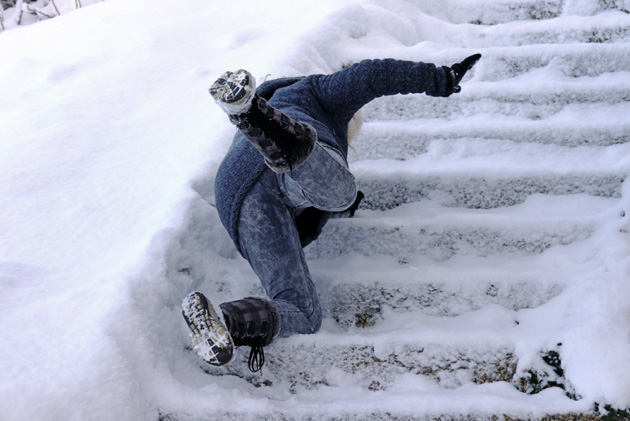 slip and fall on property