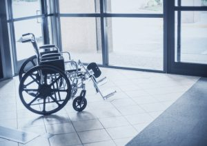 wheelchair at hospital